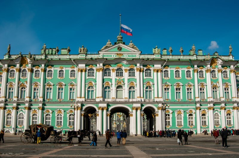 Ermitāža Sanktpēterburgā, Krievijā