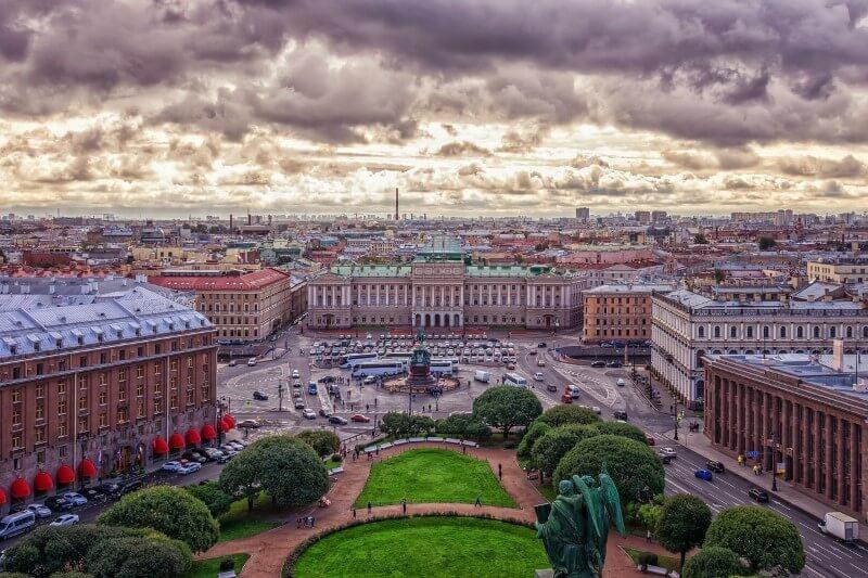 Sanktpēterburga, Krievija